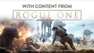 With content from Rogue One