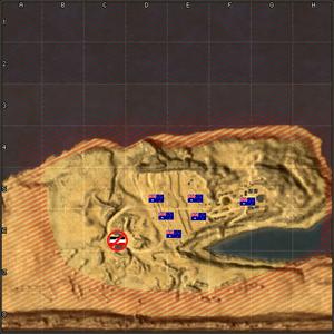 Tobruk map