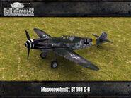 Messerschmitt Bf 109 G-6 render 1