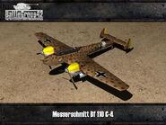 Messerschmitt Bf 110 render old 1
