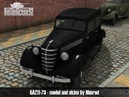 GAZ-11-73 render 2