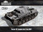 Panzer II render winter
