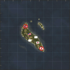 Guadalcanal co-op map