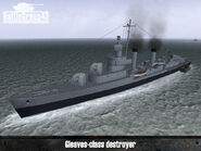 Gleaves-class destroyer 1