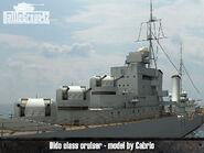 Dido-class cruiser 2