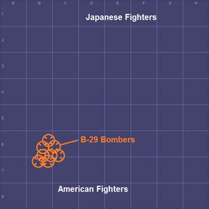 4503-Tokyo Air Raid map