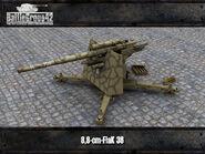 FlaK 36 render