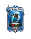 Melee 1 CARD HERO HEALING WATER