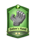 1 Golem's Hand
