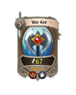 Melee 2 CARD HERO WAR AXE