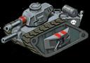 Mediumtank front grey