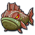 Sea grouper baby icon