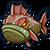 Sea grouper baby icon