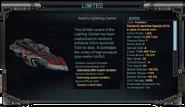 Nash's Lightning Carrier Stats
