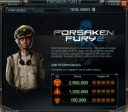Forsaken Fury 2 Event Details