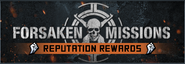 Forsaken Mission Reputation Rewards