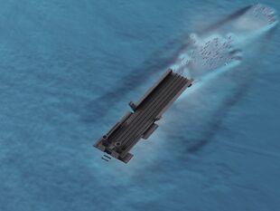 Torpedo or aircraft boat