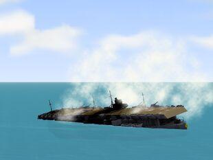 Akagi Sinking