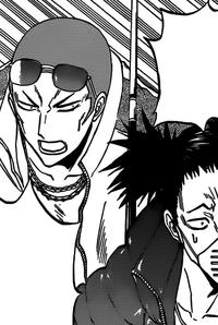 Ogata & Busujima Surprised