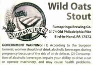Rumspringa Wild Oats Stout