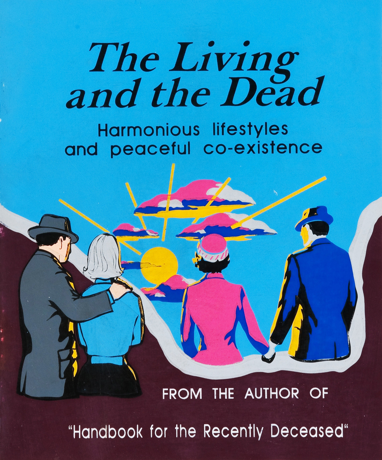 Printable Book Cover Handbook For The Recently Deceased ~ The living and dead beetlejuice wiki fandom