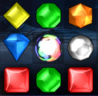 Bejeweled 2's Hypercube