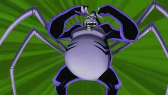 File:Ultimate Spdier Monkey Art Work From Cartoon Network.png