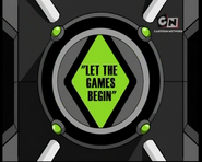 Let The Games Begin Logo