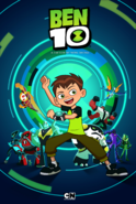 Full Ben 10 reboot poster with 10 new aliens