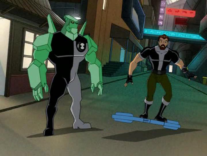 Ben 10 000 Of Ben 10 Ultimate Alien By Dlee1293847 On: Image - Diamondhead And Ben 10,000.png