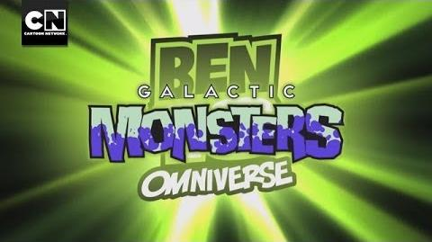 Ben 10 Omniverse Galactic Monsters Cartoon Network