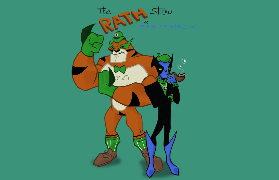 Ben 10 Ultimate Alien Ultimate Fast Track The Rath and Fasttrack Show