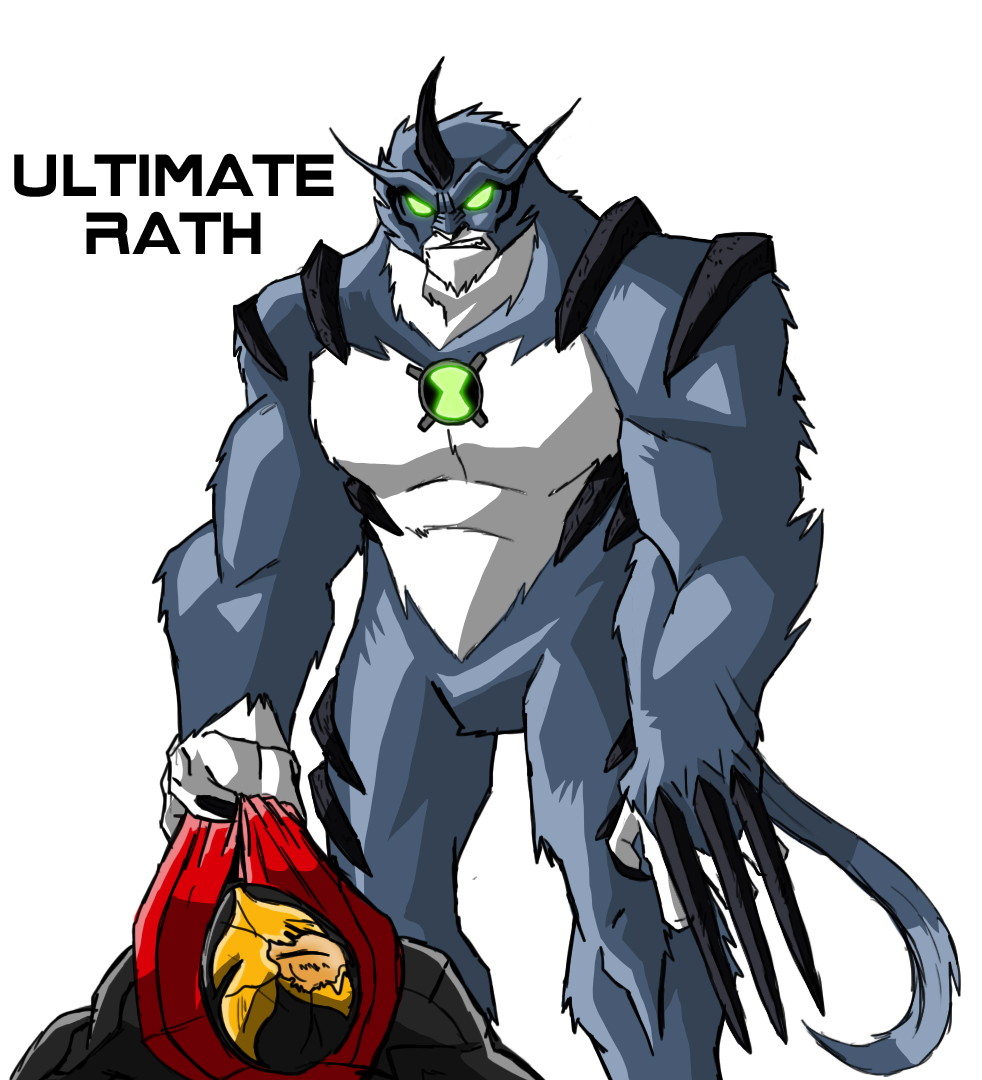 Ben 10000 Ultimate Alien: Ultimate Rath (Aliens Unleashed)