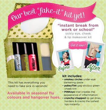 Fake-It Kit Advert