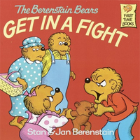 Berenstain bears get in a fight cover