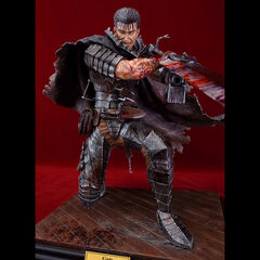 Guts in black armor statue bloody variant released by Art of War.
