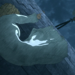 Nina seemingly falls to her death from the Tower of Conviction.