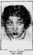 Ann Little as Betty Boop