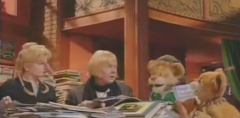 between the lions the ram in the pepper patch vhs