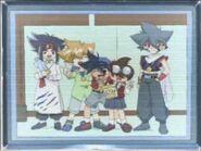 The team at dorm kai