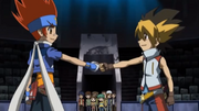 Sora meets Gingka