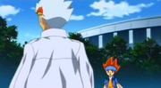 Ryuga warns Gingka