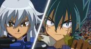 Tsubasa and Kyoya
