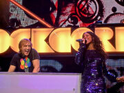 David Guetta and Kelly Rowland Live - Orange Rockcorps London 2009 reworked