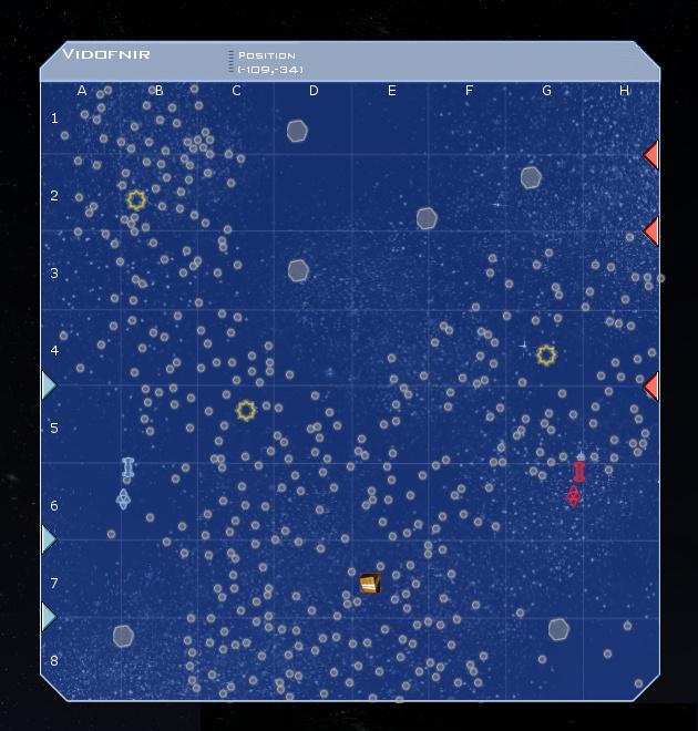 Vidofnir System Map
