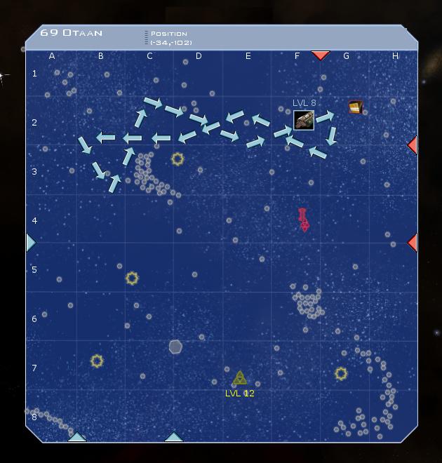 69 Otaan System Map