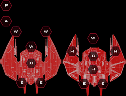 Advanced Cylon War Raider II System Slots