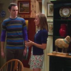 Sheldon and Mary Cooper.