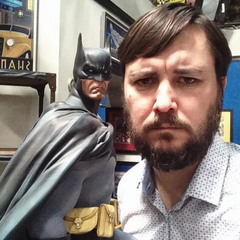 Wil and Batman.
