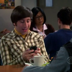 Bernie sends him the text where Amy learns that they are dress shopping.